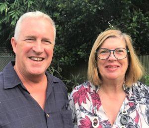Paul Sutton and Suzie Coghlan